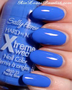 Sally Hansen Xtreme Wear Pacific Blue. I have this color and love it.