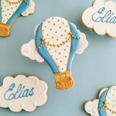 Hot air balloons for Elias
