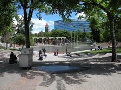City Walk: A Walk in Downtown Calgary, Part Calgary, Alberta New West, Alberta Canada, Best Cities, Burns Building, Walking Tour, Calgary, Marina Bay Sands, Great Places