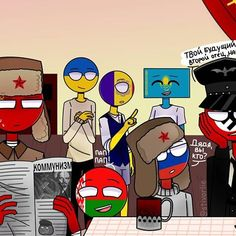 7 Best CountryHumans images