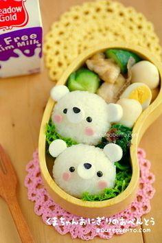 Polar Bears Bento | Tokyo Otaku Mode β