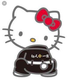 Japan gang yankee bodozoku hello kitty 4649 暴走族 ハローキティ 夜露死苦