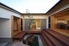 蒲郡の平屋 #ウッドデッキ#SE構法#kotori#kotoriの家#5to6のお家#ことらー#アウトドア#高耐久#快晴#青空