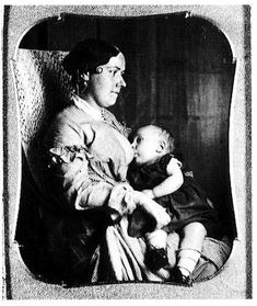 Shifting Discourses of Motherhood: The Victorian Breastfeeding Photo Fad (click thru for analysis)