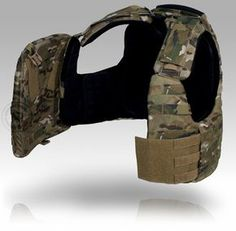 Crye Precision CAGE Armor Chassis - this is how you make a split front vest work.  This vest offers better mobility, better fit, better load bearing and enhanced shoulder protection when compared to the iOTV.  The price is, as with most things Crye, the only part of the gear I don't like.
