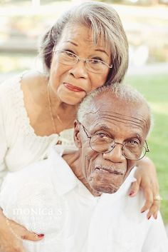 Beautiful older couple.