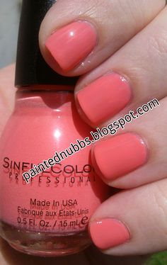 Painted Nubbs: Sinful Colors Island Coral: NOTD