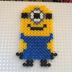 Minion hama beads by abd808