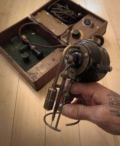 Samuel O'Reilly, inventor of the modern rotary tattoo machine, patented in 1891.
