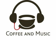 Coffee and music Coffee Latte Art, Coffee Is Life, I Love Coffee, Coffee Cafe, My Coffee, Coffee Shop, Good Morning Coffee, Coffee Break, Deco Cafe