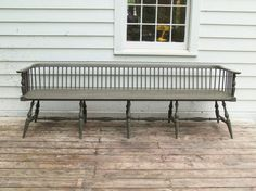 4 Low Back Windsor Bench
