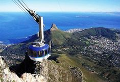 Being on the top of Table Mountain is a must if you visit Cape Town. There is a special energy around that mountain!