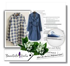 """""""Beautifulhalo"""" by merima-gutic ❤ liked on Polyvore featuring WithChic and Converse"""
