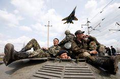Ukraine, Kramatorsk, 16.04.2014, Reuters
