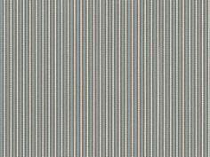 Ticking Stripe fabric, Fog colorway| Camp Wannagetaway Collection by Perennials Fabric