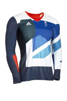 Archery top from the Team GB London 2012 kit, designed by Stella McCartney