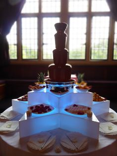 Chocolate Fountain New Forest at Rhinefield House...   #wedding #weddings #bride #groom #dress #chocolatefountain #cake #bouquet   www.hotchocolates.co.uk www.blog.hotchocolates.co.uk www.evententertainmenthire.co.uk