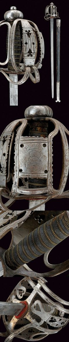 A basket-hilted sword ,  dating: early 19th Century   provenance: Scotland