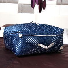 Clothes Storage bag #polkadots