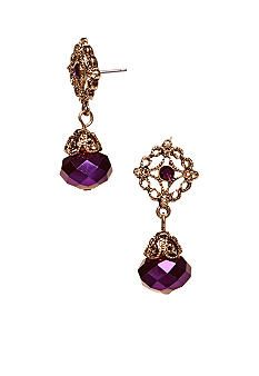 Jinger Adams Vintage Sparkle Collection Earrings - Belk.com