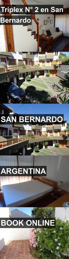 Hotel Triplex N° 2 en San Bernardo in San Bernardo, Argentina. For more information, photos, reviews and best prices please follow the link. #Argentina #SanBernardo #travel #vacation #hotel