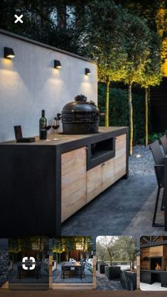 Outdoor Barbeque, Outdoor Kitchen Patio, Outdoor Patio Designs, Outdoor Kitchen Design, Outdoor Landscaping, Backyard Patio, Outdoor Living, Outdoor Decor, Barbecue Grill