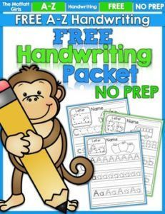 Free Handwriting Practice #HandwritingPractice&PencilGrip