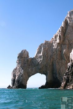 Land's End and the Arch in Cabo San Lucas, Baja California Sur, Mexico. Next to it you can enjoy Lover's Beach & Divorce Beach. Be careful of the tides, though; they are killers -- I had the pleasure of visiting here in 2006.