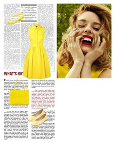 """""""Yellow"""" by jessica-skye-1 on Polyvore"""