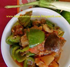 KANNADA CUISINE: Badanekai Donnemenasina Palya / Curried Eggplant a...