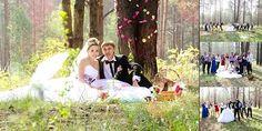 結婚式, 花嫁, 新郎, ちょうど結婚, 自然, ブライダルブーケ