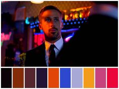 Only God Forgives (Nicolas Winding Refn, Movie Color Palette, Colour Pallette, Nocturne, Cinema Colours, Graphic Design Lessons, Damien Chazelle, Color Palette Challenge, Color Style, God Forgives