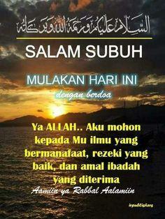 Salam Subuh Yang Indah : salam, subuh, indah, Salam, Subuh, Ideas, Salam,, Assalamualaikum, Image,, Islamic, Quotes