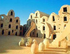 Matmata, Tunisia... A different world.