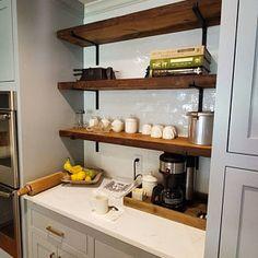 Woodworking Used Machinery Room Shelves, Kitchen Shelves, Wooden Shelves, Shelf Brackets Industrial, Steel Shelf Brackets, Draw Handles, Country Shelves, Coffee Table Legs, Iron Shelf