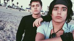 Billy Unger with his brother Eric Chase Davenport, Billy Unger, Mighty Med, Billy Williams, Lab Rats, Disney Boys, Celebs, Celebrities, Brother