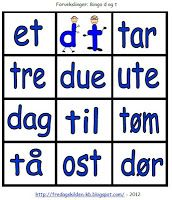 FredagsKilden: NORSK - Undervisningsmateriell 1-17 Bingo, Tech Companies, Company Logo, Games, Logos, Tips, Barn, Converted Barn, Logo