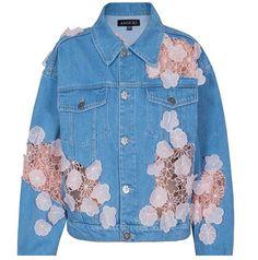 Amazing denim jacket @moreislove