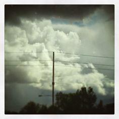 Stormy sky. But do you spy a heart?