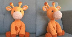 Giraffe Crochet, Crochet Animals, Crochet Toys, Great Friends, Animals And Pets, Free Pattern, Dinosaur Stuffed Animal, Crafts For Kids, Projects To Try