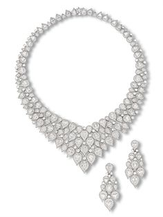 A Suite of Diamond Jewelery