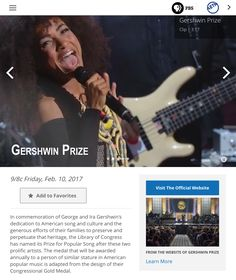 http://www.pbs.org/show/gershwin-prize/