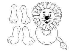 animal puppet and printables