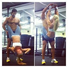 25 Couples Who Prove If You Work Out Together, You Stay Together... ❤ liked on Polyvore featuring accessories