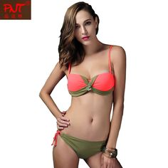 $19.99 (Buy here: https://alitems.com/g/1e8d114494ebda23ff8b16525dc3e8/?i=5&ulp=https%3A%2F%2Fwww.aliexpress.com%2Fitem%2FTop-Quality-Nylon-Woman-Push-Up-Bra-Bandage-Swimwear-Swimsuit-Bikini-Sexy-Lace-up-Back-Biquine%2F32538139261.html ) 2015 PNT Brand Women Sexy Bikini Push Up Swimsuit Swimwear Halter Bra Bathing Suit Biquini Brasileiro 15002 for just $19.99