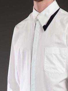 Yohji-Yamamoto-white-cotton-asymmetric-collar-shirt-5