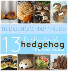 Happy Hedgehogs! Get in on the trend with these sweets and treats!