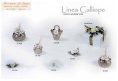 """Linea """"CALLIOPE"""" porcellana bicolore Panna/Rosa - Panna/Grigio - Panna/Arancio  Cuori - Scatole - Farfalle Profumatori  Read more: http://mercantedisognivoghera.blogspot.com/2015_11_11_archive.html#ixzz3rE0AkKcD"""