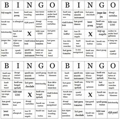 Kennismaking bingo