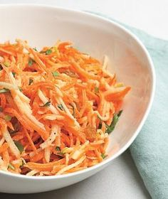 Carrot and Apple Slaw With Raisins | RealSimple.com